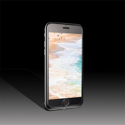 9H 0.3mm 2.5D tempered glass film for iPhone 5 5s SE Hard  Screen Protector for iPhone 6 6s 6 plus 7 7plus  4 4S with Clean Tool  dailytechstudios- upcube