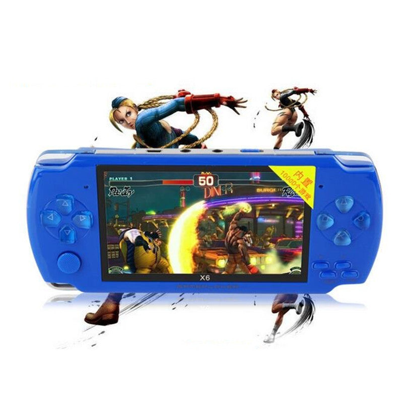 Portable Handheld Game Players 8G 4.3 inch mp4 player Video Game Console Free 10000 Games Ebook Camera Recording Gaming Consoles