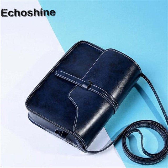 2016 Women messenger Bag Shoulder Bags Crossbody Vintage Purse Leather Cross Body Crossbody top-handle bags bolsos mujer