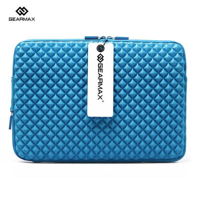 GEARMAX Waterproof Laptop Sleeve 11 12 13 14 15 Laptop Bag Case+Free Keyboard Cover Notebook Bag for Macbook Air 13 Case Pro 13
