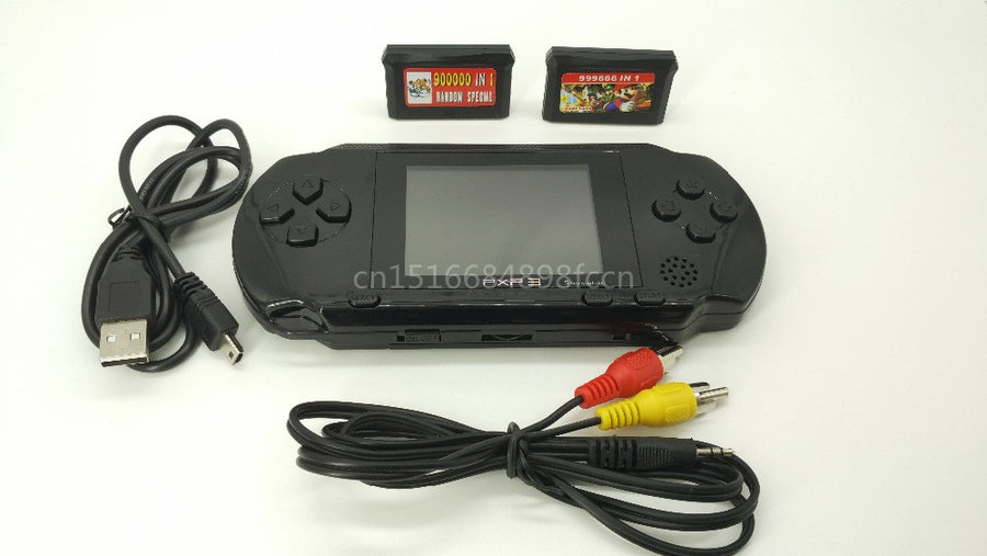 Rechargeable Handheld Game Console Game Player For Sega Mega Drive For Sega Genesis 16 Bit Games with 156 Games Output to TV