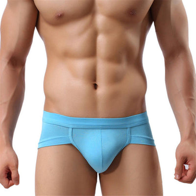 New Trunks Sexy Underwear Men Men's Boxer Shorts Bulge Pouch soft Underpants Sexy Low Waist 5 Colors  High Quality