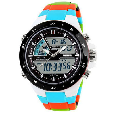 2016 Women Sports Watches Waterproof Fashion Casual Quartz Watch Digital Analog Military Multifunctional Women's Wrist Watches  dailytechstudios- upcube