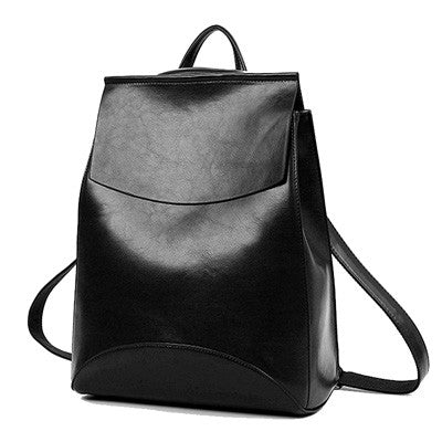 Summer Brand Vintage backpack Women Pu  leather Woman Backpack  High Quality  Softback Mochilas Mujer School Bags For Teenagers