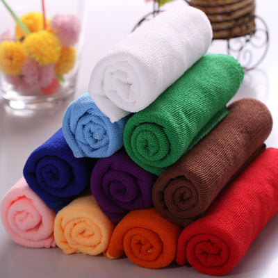 1pc Absorbent Microfiber Drying Bath Beach Towel Washcloth Shower Clean Car