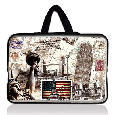 "7.9 9.7 10 12 13 14 15 17"" panda Tablet Sleeve Case Mini PC Laptop Bag 10.1 11.6 13.3 15.4 15.6 Computer Handbag Protector Cover  dailytechstudios- upcube"