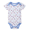 New 2016 Baby Fashion Newborn Baby Girls Boy Short Sleeve Butterfly Printed Summer Body Rompers Outfits Clothes