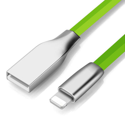 High Quality 3D Zinc Alloy Fast Charging Data Sync Micro USB Cable for iPhone 6 6s 7 Plus 5s 5 iPad mini / Samsung / Sony / HTC