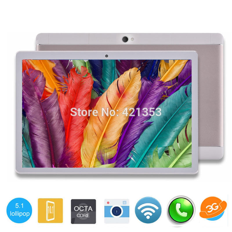 DHL Free 3G Phone Tablet PC 10 inch MTK8752 Octa Core 4GB RAM 64GB ROM Android 5.1 GPS Dual Camera 3G Phone Tablet 10""