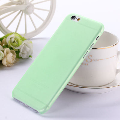0.3mm Ultra thin matte Case cover skin for iPhone 6 6S Translucent slim Soft plastic Free Shipping Cellphone Phone case - upcube