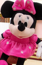 2015 New 1 Piece 28CM-30CM Mini Lovely Mickey Mouse And Minnie Mouse Stuffed Soft Plush Toys Christmas Gifts  dailytechstudios- upcube