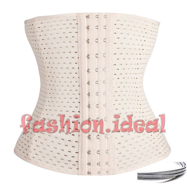 *USPS* Lady Waist Tummy Girdle Glass Waist Trainer Body Shaper For Ladies Underbust Control Corset Elasticated Hot Belt