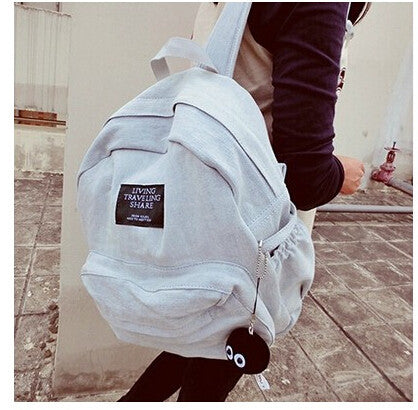 2017 Fashion Women Backpacks Denim School Bags For Teenagers Girls Shoulder Bag Travel Daily Bagpack Bolsas Mochilas Femininas  dailytechstudios- upcube