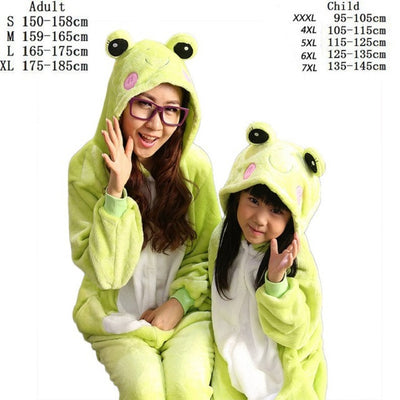 New women Pajamas Autumn Winter Child Flannel Animal funny animal Stitch panda unicorn pajamas nightgowns Onesie Sleepwear