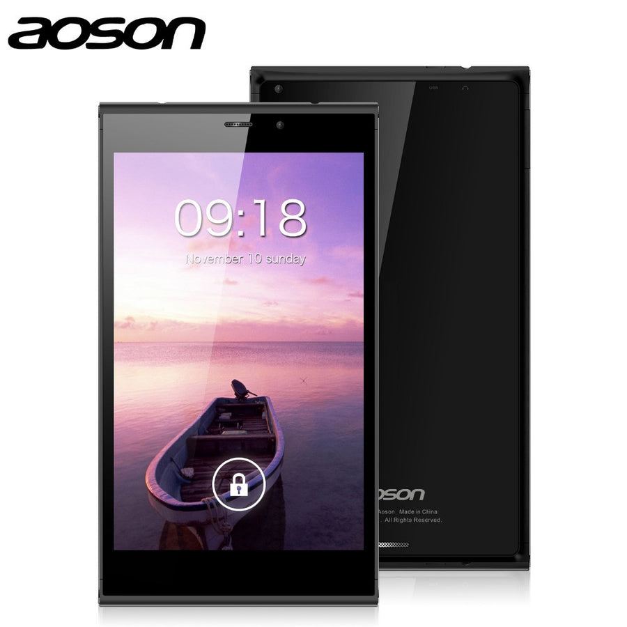 "IN Stock!!! 7"" 3G Call Tablet PC Aoson M706T Android 4.4 Quad Core IPS Screen 8GB ROM+1GB RAM Dual SIM Dual Camera GPS WiFi"