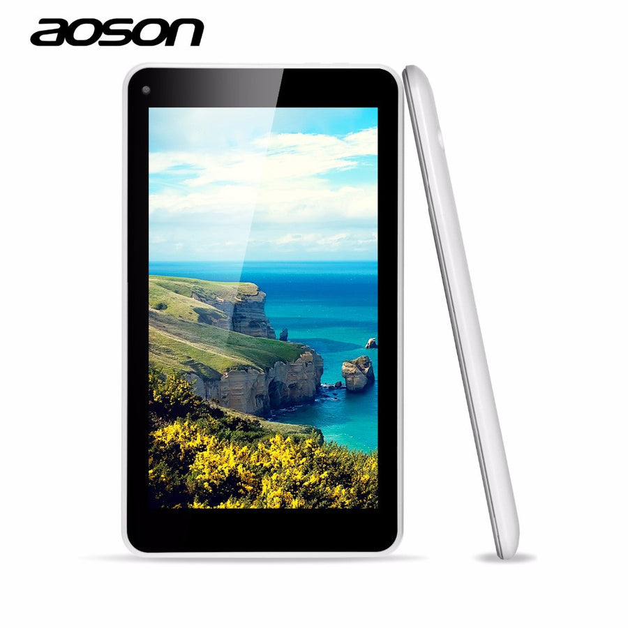 cheap new Aoson M751S-BS 7 inch PC tablet computer HD 1024*600 A33 Quad Core Dual Camera 512MB/8G Android 4.4  dailytechstudios- upcube