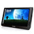 10.2inch DVB-T2/Normal Verison HD LED Portable TV Media Player, Support VGA Input, With USB&SD Movies MOV MKV AVI