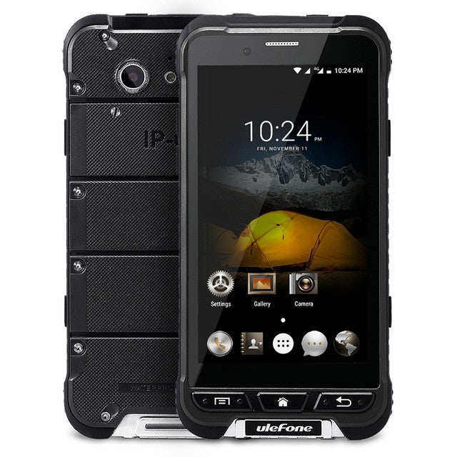 4.7 Inch Ulefone ARMOR 4G Original Smartphone Android 6.0 MTK6753 Octa Core Mobile Phone 3GB+32GB 13MP IP68 Dustproof Cellphone  dailytechstudios- upcube