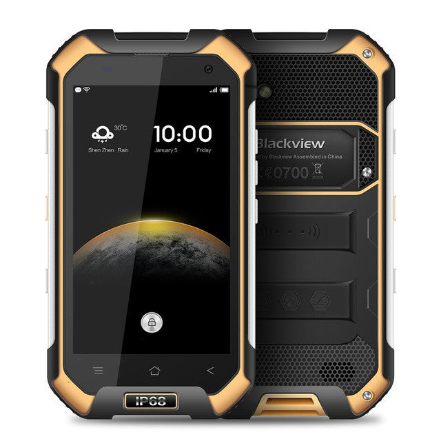 4.7 inch Blackview BV6000 4G Smartphone Android 6.0 MTK6755 Octa Core 3GB RAM 32GB ROM 5MP + 13MP IP68 WaterProof Cellphone  dailytechstudios- upcube