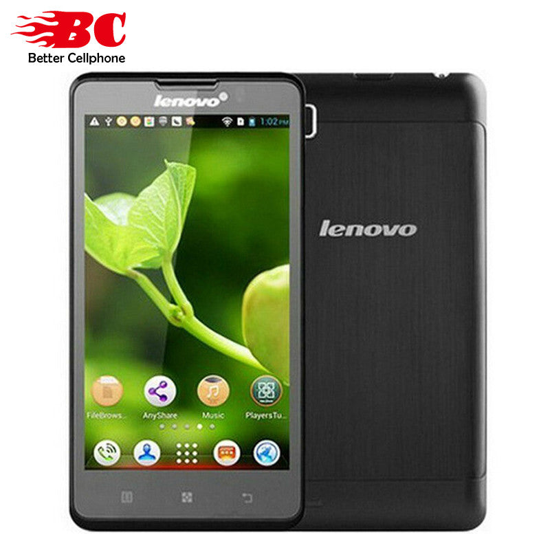 100% New Original Lenovo P780 5inch MTK6589 Quad Core 1.2GHz 8.0MP Bluetooth WIFI GPS 4000mAh multi-language Smart Android Phone - upcube