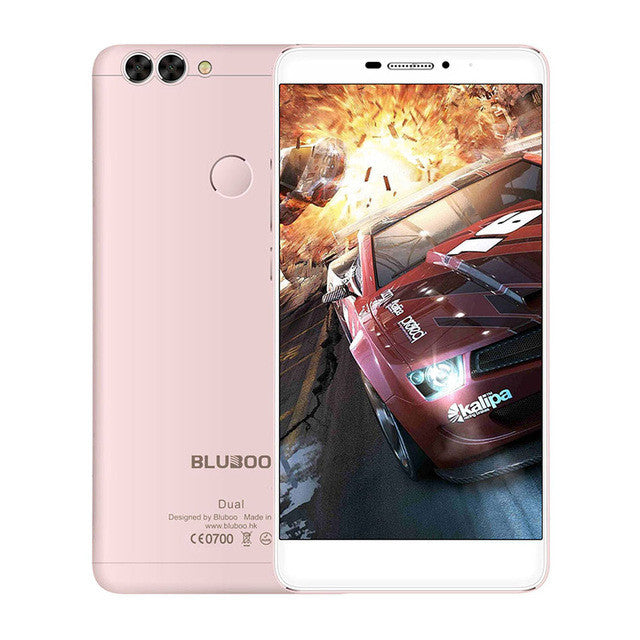 "2016 New Arrive BLUBOO Dual Android 6.0 5.5""  4G Smartphone MTK6737T Quad Core 2G RAM 16G ROM 13MP Dual Rear Camera Mobile Phone  dailytechstudios- upcube"