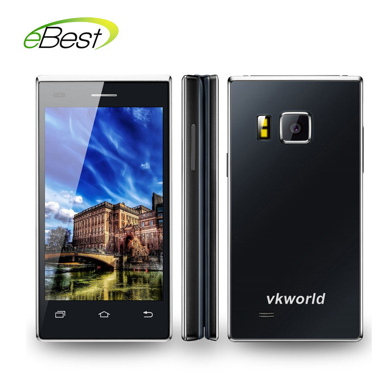 2016 Vkworld T2 Flip Mobile Smart Cell Phone Android Mtk6580 Quad Core 1gb Ram 8gb Rom 13.0mp 4.0 Inch 2050mah Business Style