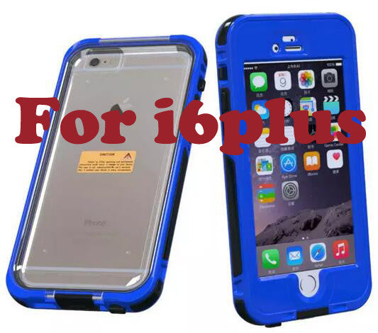 For Apple IPhone 6 6Plus Waterproof Life Water Proof Case Shockproof Dirt Proof Phone Cases for I Phone6 6plus Cover