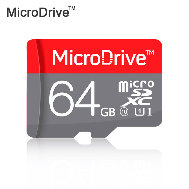 100% Original Red  Micro SD Card 64GB 32GB 16GB Class 10 High Speed Memory Card 8GB Class 6 Cartao de Memoria Carte SD Tarjeta  dailytechstudios- upcube
