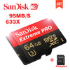 100% Genuine Sandisk Extreme Pro 95MB/S micro sd card 64GB class10 flash card 16GB microSD tf card in Memory card 32GB  dailytechstudios- upcube