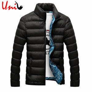 2016 Winter Solid Men Jackets Spring Men's Cotton Blend Mens Jacket And Coats Casual Thick Outwear Plus Clothing Male 4XL YN668