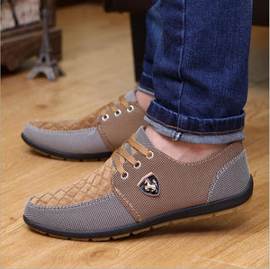 2016 mens Casual Shoes mens canvas shoes for men shoes men fashion Flats Leather brand  fashion suede Zapatos de hombre