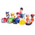 12 Pcs/Set Puppy Dog Toy Childrens Anime Action Figure Toy Mini Figures  Dog Model Toys 66869