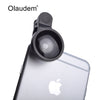 Super Wide Angle Mobile Phone Lens Universal Smartphone Camera lenses Upgrade Version For iPhone 4 4S 5S 6 Samsung CL168