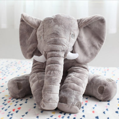 60cm Fashion Baby Animal Elephant Style Doll Stuffed Elephant Plush Pillow Kids Toy for Children Room Bed Decoration Toys  dailytechstudios- upcube