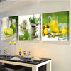 3 Panels paintings for the kitchen fruit wall decor modern canvas art wall pictures for living room descorative pictures  dailytechstudios- upcube
