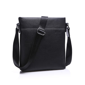2016 Famous Brand Leather Men Shoulder Bag Casual Business Satchel Mens Messenger Bag Vintage Men's Crossbody Bag bolsas male