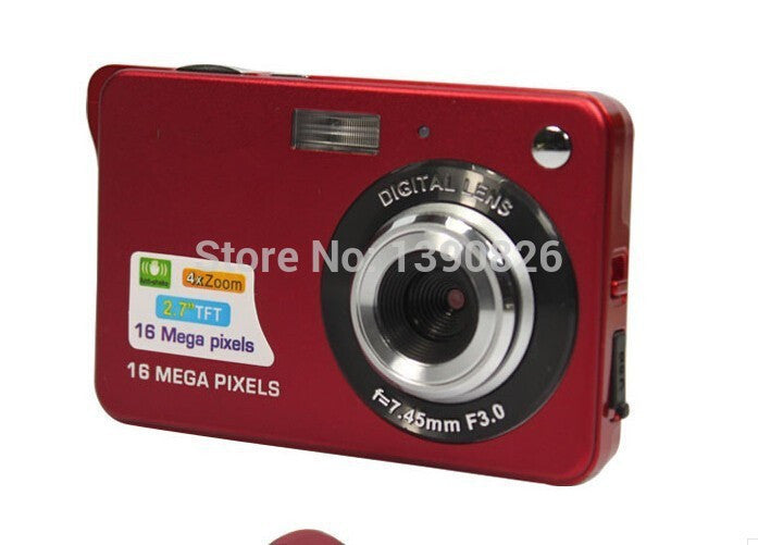 18Mp Max 3Mp CMOS Sensor Digital Cameras 8x Digital Zoom and Rechareable Lithium Battery, Free Shipping