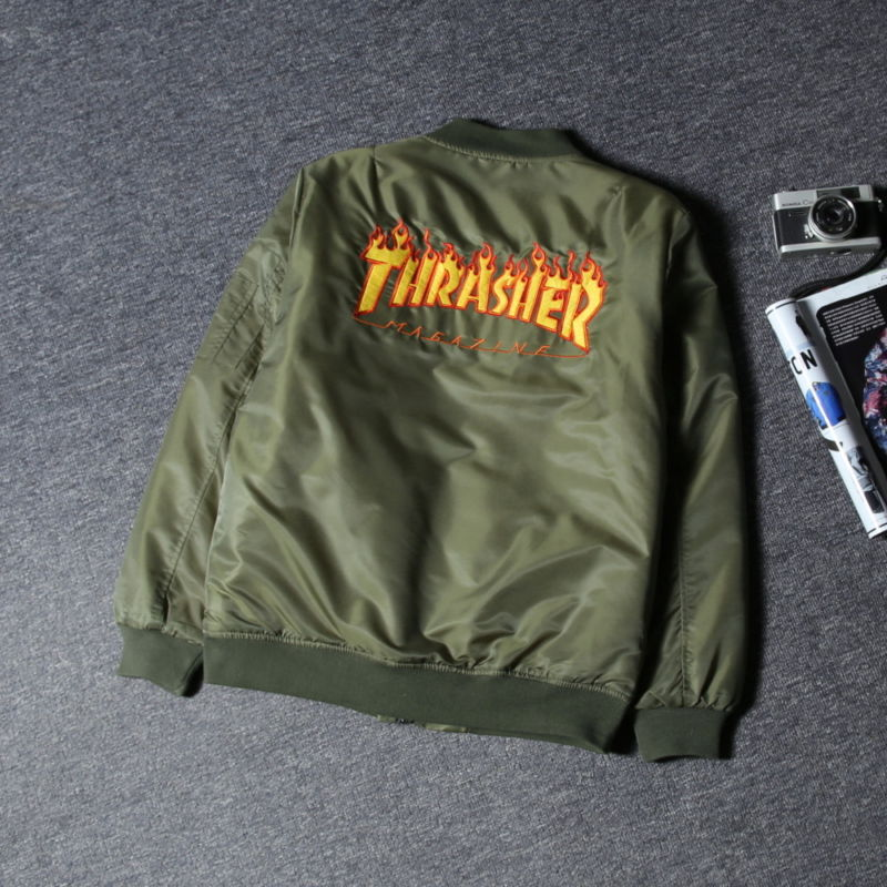Fashion Men's hoodie hedging skateboard Hip-Hop camouflage Thrasher Sweatshirts