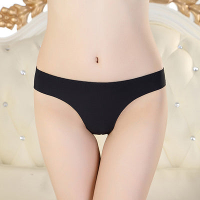 2017 New Hot Ladies Sexy G String Seamless Thong Calvine Cotton Underwear Panties For Women 9 Colors Freeshipping C1  Fantaisie- upcube