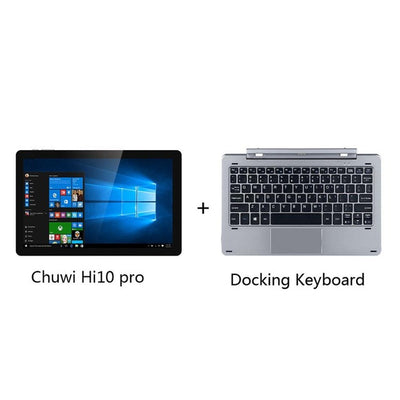 10.1 inch Chuwi Hi10 Pro IPS 1920x1200 Dual OS Tablet PC Intel Cherry Trail x5-Z8350 Windows 10+ Android 5.1 4G 64G Bluetooth4.0 - upcube