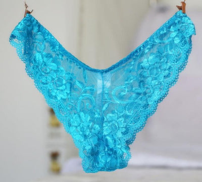 AQ247 High Quanlity Women Lingerie Seamless Panties Transparent Sexy Lace Calcinha Women's Briefs Panty Underwear Plus Size G-Strings, Thongs & Tangas blue sky fashion womenswear- upcube