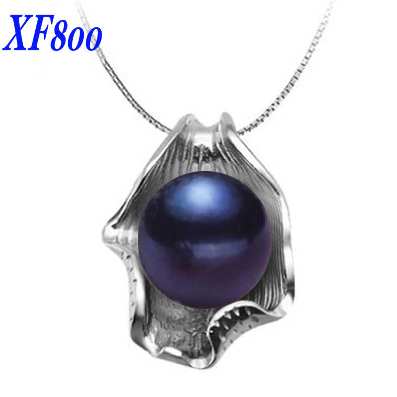 Necklaces pendants upcube xf800 big natural freshwater pearl pendantsnatural stone pearl jewelry necklaces pendant aloadofball Images
