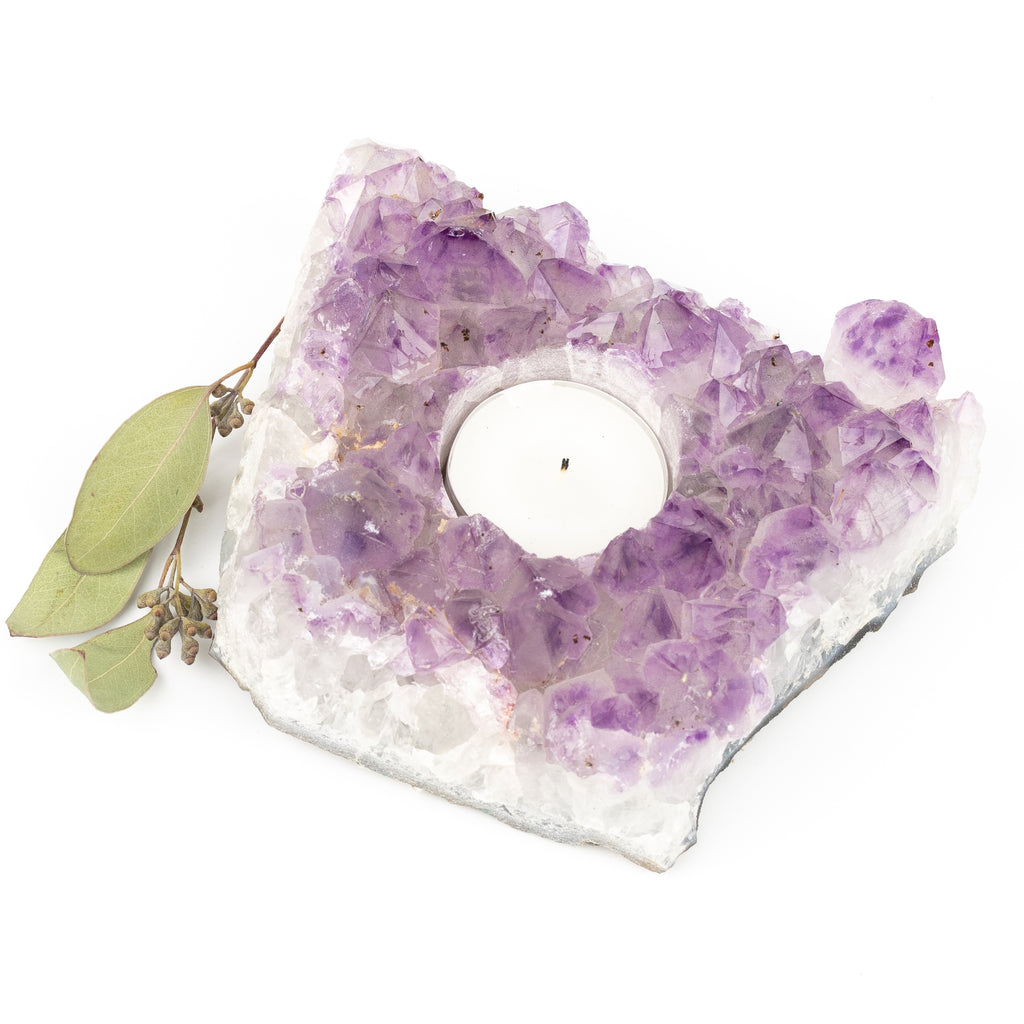 Amethyst Candle Holder #8