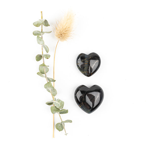 Blue Tiger Eye Companion Hearts