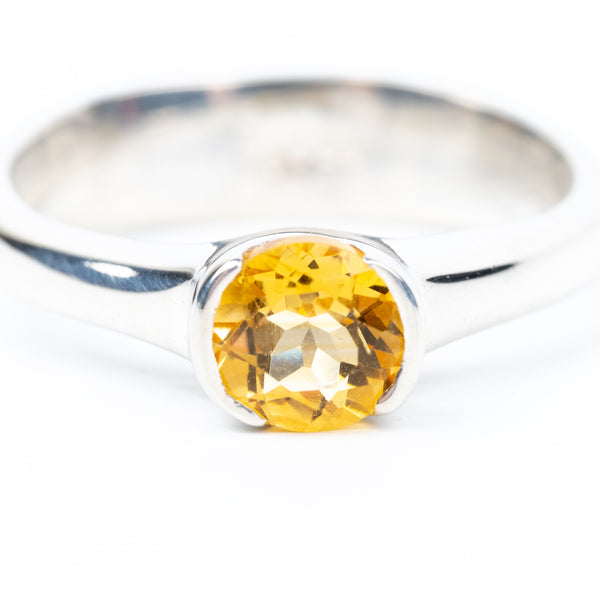 Citrine Ring Size 7