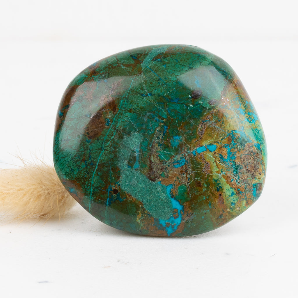 Chrysocolla and Malachite Freeform #3