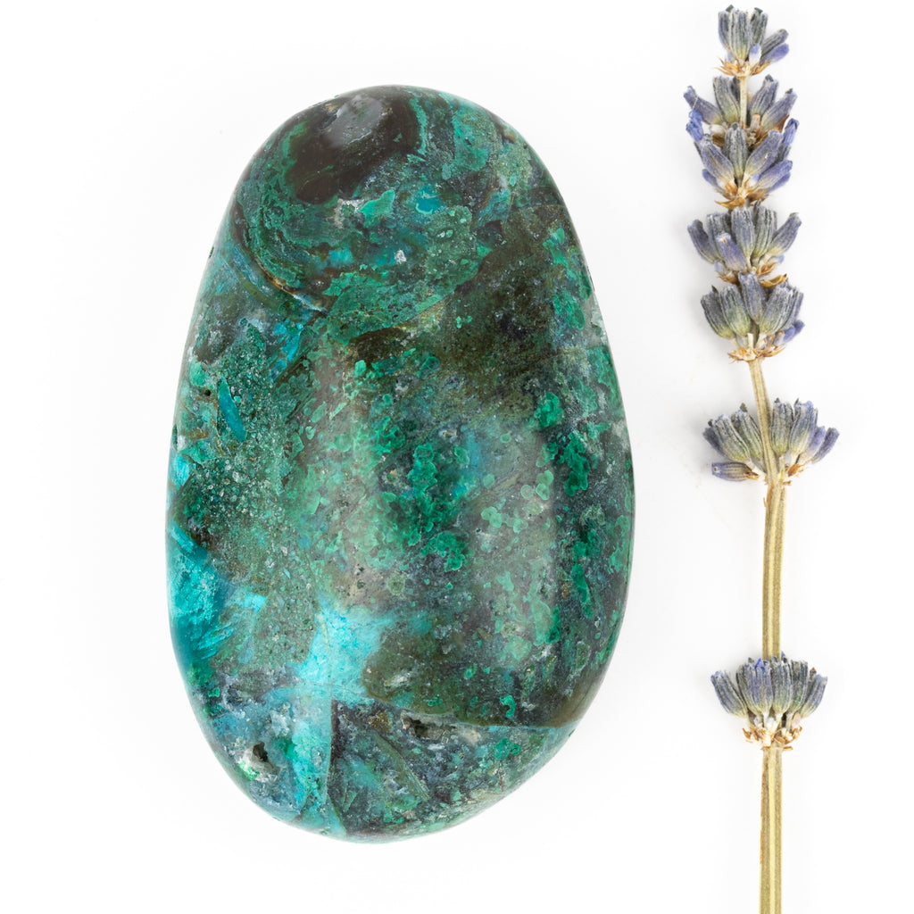 Chrysocolla and Malachite Freeform #4