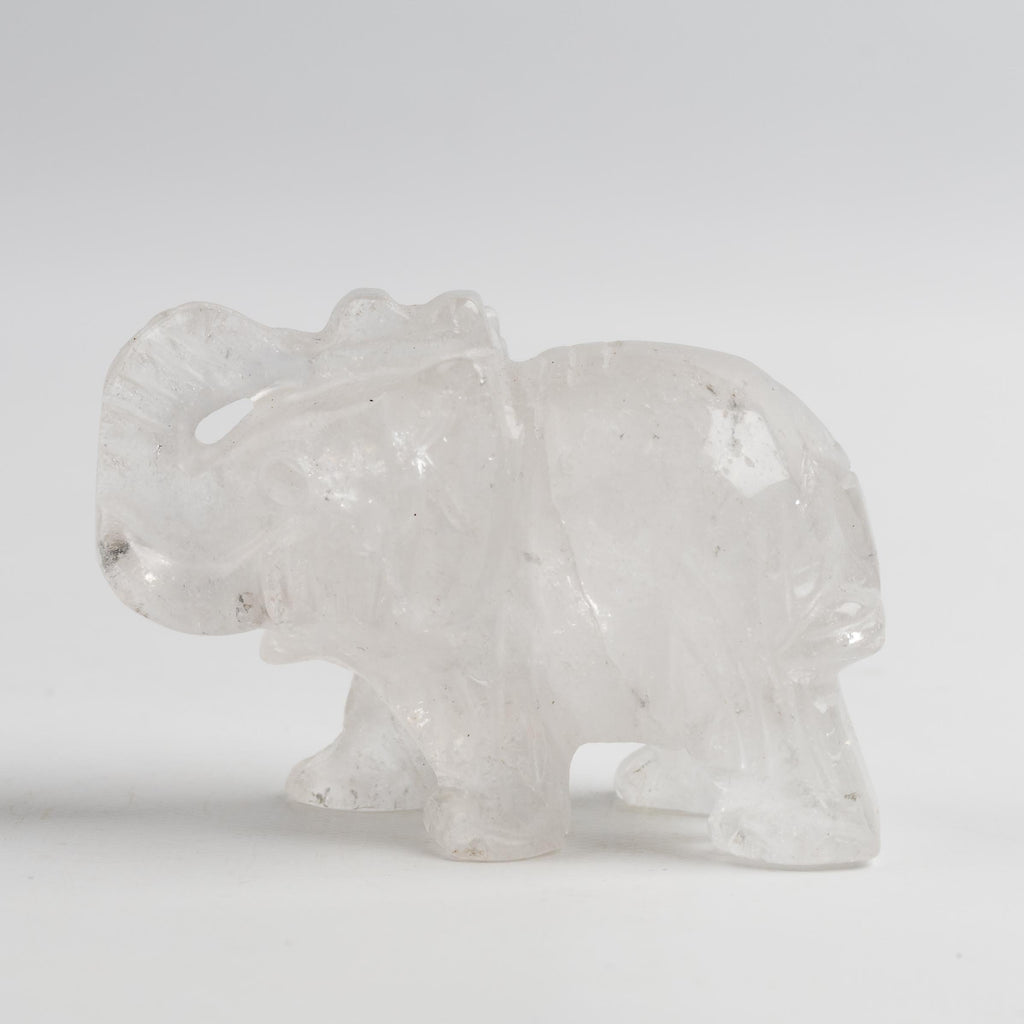 Clear Quartz Elephant