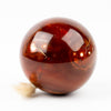 Carnelian Sphere with Druzy #1