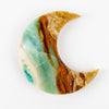 Opalized Petrified Wood Moon